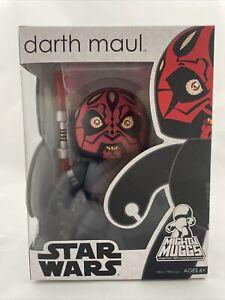 Hasbro Star Wars Mighty Muggs Darth Maul Action Figure New In Sealed Box 2007