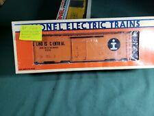 O Gauge Lionel 6 - 6232 Illinios Central Box Car lot IP
