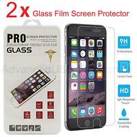 Vitre de protection en VERRE TREMPÉ film protecteur d'écran pour iPhone 7 6S 5S