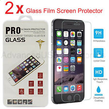 Lots 2 Ultra Thin Premium Tempered Glass Screen Protector for iphone 5 6 7 Plus