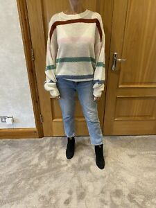 Anine Bing Lydia Stripe Jumper Sweater. Size S. Worn Once.