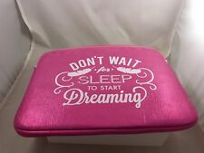 pink  dont wait sleep to start dreaming  for Mac book 15 inch padded case laptop