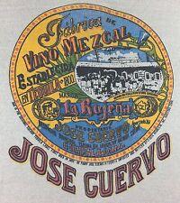 Vintage Mens 1974 Jose Cuervo 1800 Tequila Liquor Alcohol Long Sleeve T-Shirt S