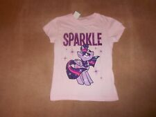 NEW, LITTLE GIRLS MY LITTLE PONY TWILIGHT SPARKLE TEE, SIZE 4