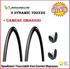 2 Copertoncini 700X25 MICHELIN Dynamic Sport Bici Corsa Strada Copertone