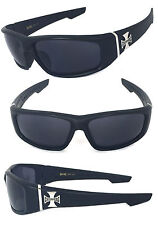 Choppers Mens Sunglasses UY Protect - Black Rubberized Frame C39