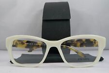 Prada VPR 24R 7S3-1O1 Ivory/Havana New Authentic Eyeglasses 52mm w/Case