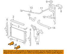 GM OEM-Radiator Lower Bracket Right 22660578