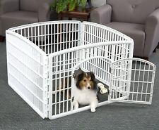 IRIS Large Indoor Outdoor Dog Pet Playpen Exercise Pen Play Yard Cage Fence NEW