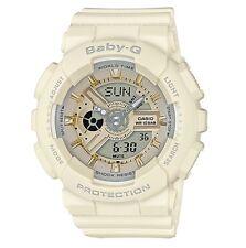 Casio Baby-G * BA110GA-7A2 Anadigi Matte Ecru & Gold Watch COD PayPal