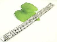 Gatik BR1021 Gents 316L Stainless Steel 5 Row Watch Style Bracelet