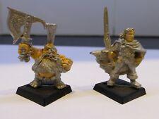 1993 Gotrek Gurnisson Dwarf Giant Slayer & Felix Jaegar Citadel Talisman Thief