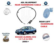 Pour Nissan Almera N16 1.5 1.8 2.2 Dci 2000> Arrière Gauche Câble Frein à Main