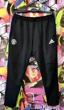 Manchester United Football Soccer Training Pants Sweatpants Adidas 2016 Mens XL
