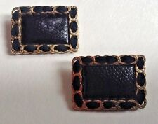Classy Black & Gold Shoe Clips/Decorations Day to Night Formal Prom