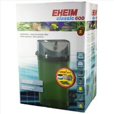 Eheim Classic 600 - 2217 (With Sponge and Bio Media) Canister Filter