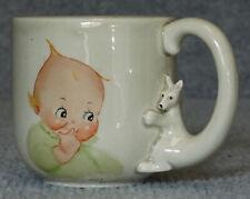 Too Cute Kewpie Joyce Bennett Fitz and Floyd Baby Mug Kangaroo Excellent