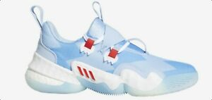 ADIDAS TRAE YOUNG 1 ICE TRAE H68997 Blue/Red/White Mens basketball Shoes 7.5-13