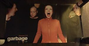 Garbage The Band Shirley Manson Version 2.0 Promo Poster