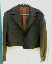 Vintage U.S. Military Green Wool Eisenhower Men'S Jacket Size Medium Us Made