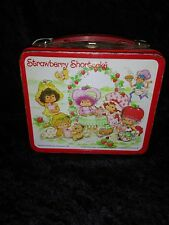 Vintage Strawberry Shortcake Metal Lunch Box - 1981