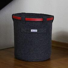 Wäschekorb Schrankkorb Sockenkorb Aufbewahrung Spielzeugkorb Papierkorb Filz DR