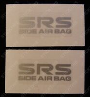 Holden HSV VT VX VY VZ GTS Senator SS - SRS Side Air Bag Decals/Stickers PAIR x2