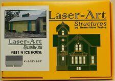 NIB N Branchline Laser-Art #881 Ice House Kit