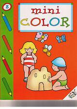 Mini Color 8. Album per colorare - EdiDecora - Libro nuovo in offerta!