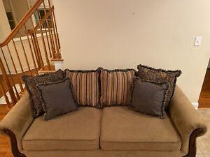 Chenile Fabric Sofa