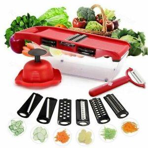 Kitchen Manual Vegetable Straigh Slicer Potato tomato Fruit Cutter Hand Guard WT