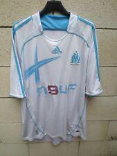 Maillot OLYMPIQUE DE MARSEILLE 2007 ADIDAS vintage home shirt camiseta trikot XL