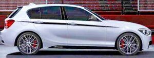 BMW Brand OEM Performance F20 1 Series 2012-2018 5 Door Side Pinstripe Decals