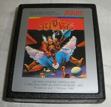 Joust video game cartridge   TESTED Works Atari 2600