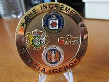International Special Operations The Increment NSA CIA GCHQ SIS Challenge Coin