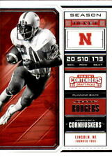 2018 Panini Contenders Draft Picks #55 Johnny Rodgers Nebraska Cornhuskers