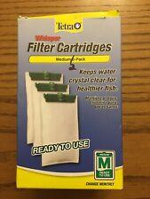 Tetra 26218 Medium 5-15 Carbon Filter Cartridges 2 Count OPEN ITEM NEW