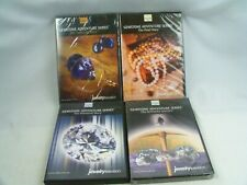 Lot of Jewelry Television JTV Gemstone Adventure Series 1 To 4  DVD Set