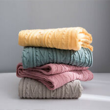 Warm Throw Thread Blanket Sofa Cover Bed Air Conditioning Knitted Blanket