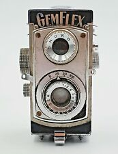 Vintage GemFlex Showa Opt. Works Twin Lens Subminiature Camera w/ Case No. 3039