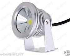 Kit! 4x Outdoor 10W LED Underwater Spot Light White DC12V IP65 Garden Pool Lamp