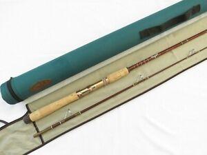 Vintage Fenwick FS70 7' Feralite Spinning Rod w/ Bag and Mountain Cork Tube