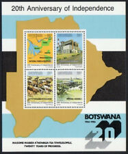 30 September 1986 20th Anniversary of Independence miniature sheet format