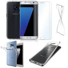 Ultra Slim Cover Hülle Smartphone + Echt Glas Panzerglas Glasfolie Case Tasche