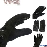 VIPER ADULT GLOVE STREET 4 CE APPROVED SUMMER TEXTILE GRIP MOTORCYCLE MOTORBIKE