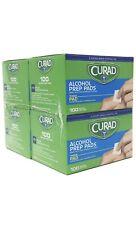 Curad Alcohol Prep Pads Mini Medium (4 Boxes) 400 ct
