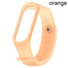 Clear Silicone Watch Band Bracelet Strap Replacement For Xiaomi Mi Band 4 3