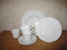 KRONESTER BAVARIA *NEW* TRADITION Set 3 assiettes + 3 tasses Set 3 plates+3 cups