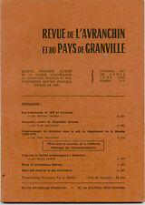 Revue de l'Avranchin,1990,n°345 télégraphie téléphone dans la Manche