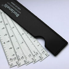 Metric Fan Scale Ruler 1:10 1:20 1:30 1:40 1:50 1:75 1:100 1:125 1:200 1:300 etc